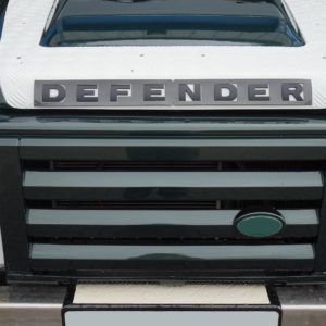 Defender motorkap letters