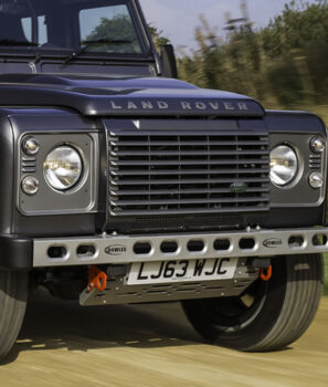 Bowler Light Weight front bumper, Road, DA1371, Land Rover Defender, graphite