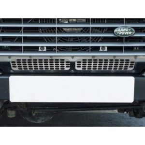 Land Rover Defender, front lower grill, stainless, DA6551