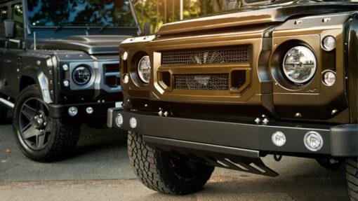 pkxlandergrille, x-lander grille. Kahn Design, Land Rover Defender