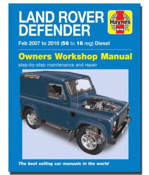 Land Rover Defender, DA3206, Haynes, Workshop Manual, Defender, Diesel