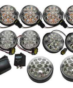 DA1291, Land Rover Defender, WIPAC. Deluxe LED Kit, LED Upgrade, DA1292