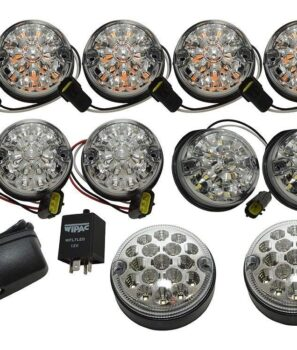 DA1291, Land Rover Defender, WIPAC. Deluxe LED Kit, LED Upgrade, DA1292