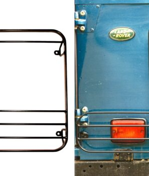 Land Rover Defender, Lamp Guards, Rear, bescherming lampen, STC53157, offroad