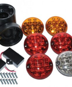 Land Rover Defender, Parts, accesories, DA1143, DA1143C, NAS LED Kit, LED lights, North American Specification