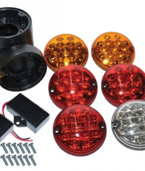 Land Rover Defender, Parts, accesories, DA1143, DA1143C, NAS LED Kit, LED lights, North American Specification