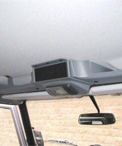 Land Rover Defender, Accessories, Parts, DA4629, DA4629B, Grey, Black, Roof Console, Storage Solution, Storage, Sunglasses, Maps, Documents, Defender Consule